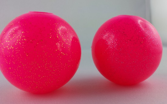 Ballknebel Pink Glitzer