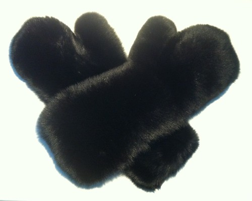 Extra Lange Wellness Massage Pelz Handschuhe Blaufuchs - Blue Fox Fur Gloves / Mitten - Long, Pelz Fetisch, Fur Fetish, Fur Fetisch Toy, Pelzfetisch Sextoy, fétiche fourrure